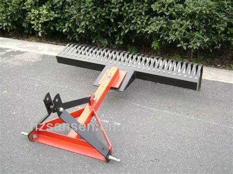 3 Point Landscape Rake Uses Farm Use 3 Point Landscape Rake China Mainland Farm