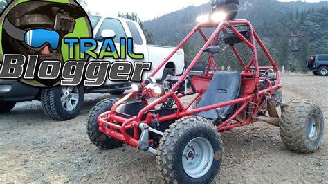 honda flr odyssey mini buggy test ride  trail