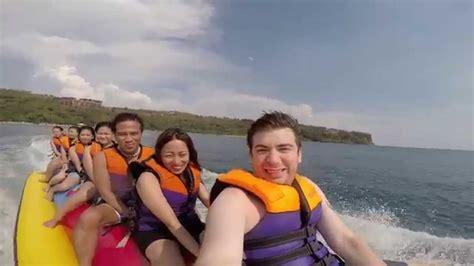 banana boat ride youtube banana boat ride in the philippines youtube