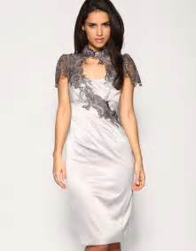 plus size silver lace dress Page 2 image