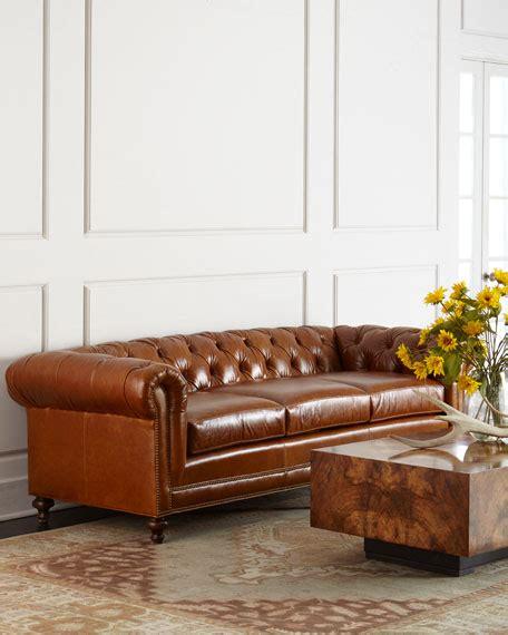 chesterfield sofa cushions massoud davidson 94 quot three cushion chesterfield sofa