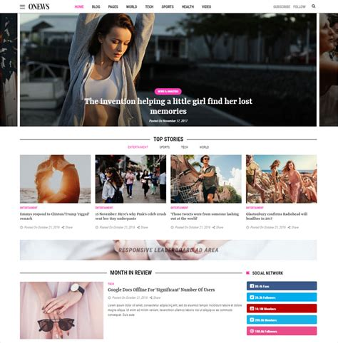 newspaper theme mobile 10 newest newspaper magazine wordpress themes of 2018