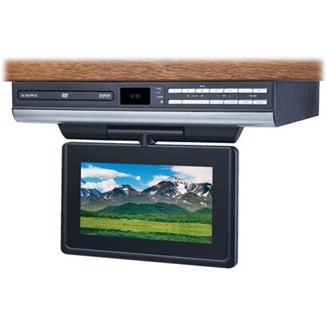 Audiovox 10 Kitchen Lcd Tv Dvd Combo by Audiovox Ve727 7 Quot Drop Lcd Tv Dvd Player Ve727 B H