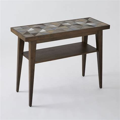 west elm sofa table rather than a side table in a phone room lubna chowdhary