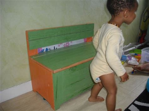 kids toy box bench   pallets wood wooden pallet