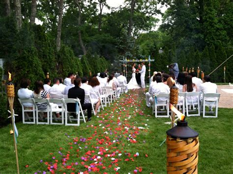 Long Island Wedding Catering Catering Backyard And Off Premises Weddings