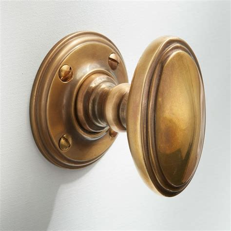edwardian door knobs antique satin brass broughtons of