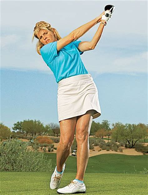 swing the golf club with your body 10 power tips for women all things about golf pinterest