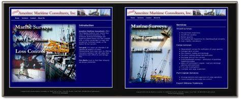 website design archives jm design solutions website design jm solutions for ameritec maritime consultants