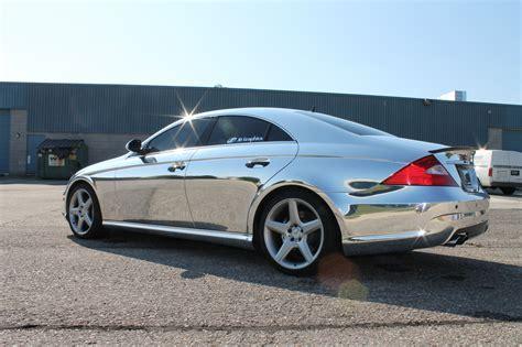 Mercedes cls63 Wrap Vinyl chrome wallpaper   3088x2056