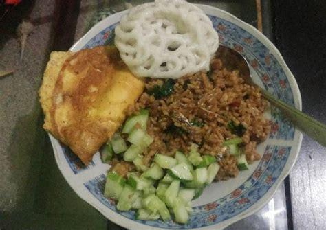 resep  membuat nasi goreng ikan asin komplit