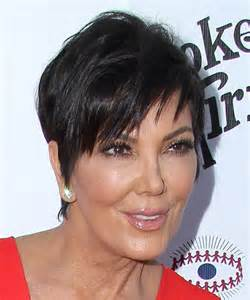 kris jenner hair color kris jenner short straight hairstyle dark brunette hair