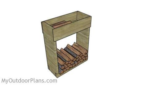 Firewood Rack Plans Free by Indoor Firewood Rack Plans Myoutdoorplans Free