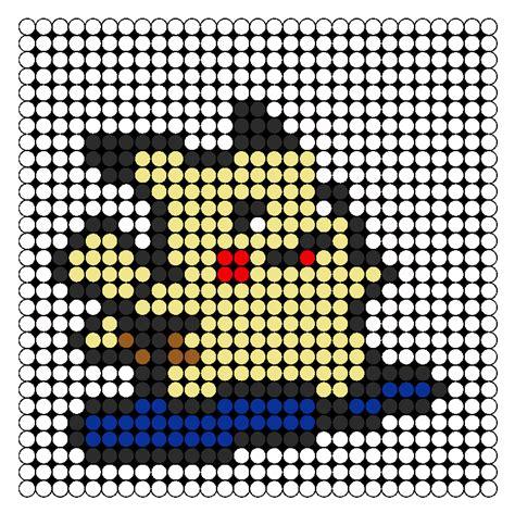 pikachu perler bead template pikachu surf perler bead pattern bead sprites