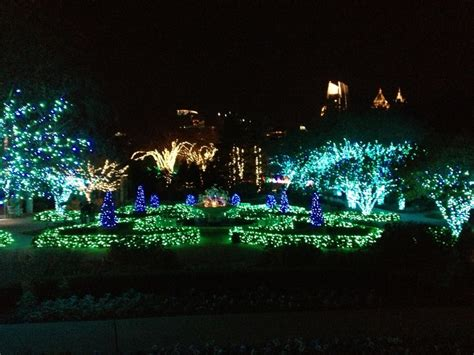atlanta botanical gardens light show atlanta