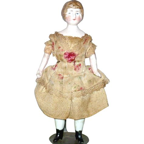 6 inch bisque doll 6 inch german bisque sh doll house molded bun