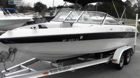 bimini top for reinell boat 05 reinell 204 fish ski 270hp volvo 5 0 gxi youtube