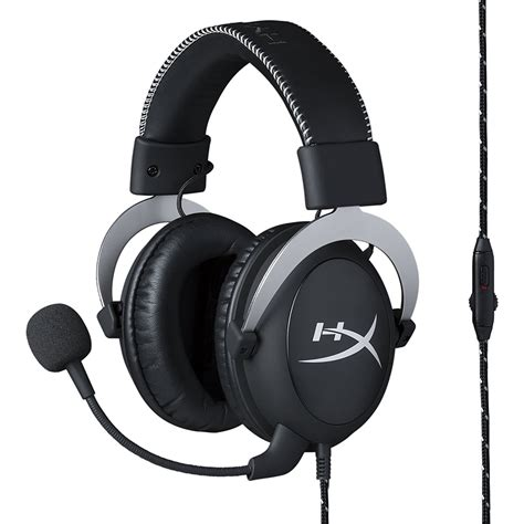 Hyperx Cloud Gaming Headset a look at the silver hyperx cloud pro gaming headset for