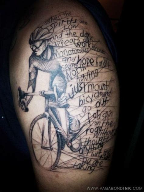 tattoo ideas for history buffs 30 bicycle tattoos for bike lovers bicycle tattoo