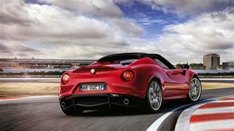 alfa romeo 4c spider 2015 wallpapers hd