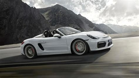 Porsche Boxster Rs by Porsche Boxster Spyder Gt4 And Cayman Gt4 Rs Could Happen