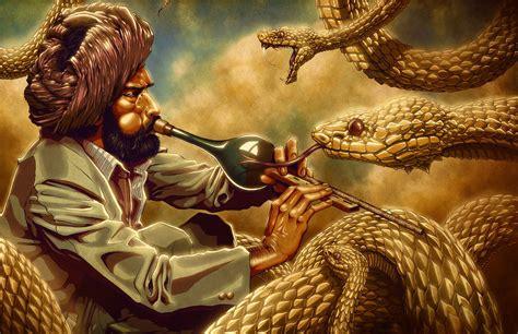 Charmer 40lembar 100original the snake charmer by zachsmithson on deviantart