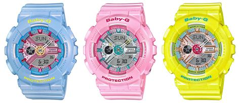 Casio Baby G Ba 110 Glossy Pink baby g ba 110ca pastel series gets u s release g