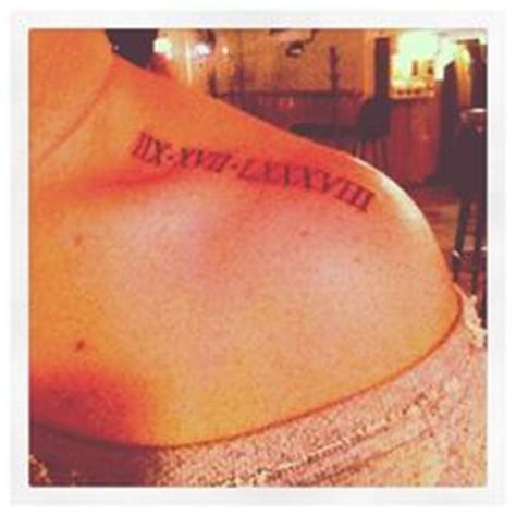 xxvii tattoo meaning roman numerals i d love to do this with my baby s