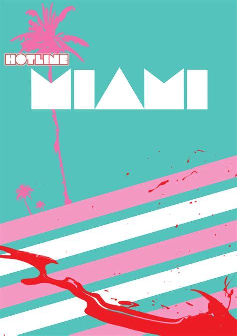design graphics miami hotline miami poster by sleazysalad on deviantart