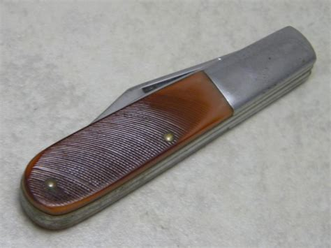 knife new york camillus new york usa delrin 51 barlow knife