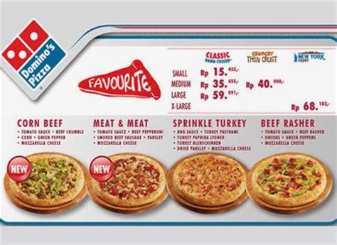 domino pizza jakarta promo daftar harga domino pizza 2018 terbaru daftar harga