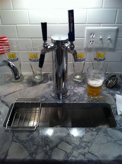 reddit basement living room keg tap follow up tap in kitchen