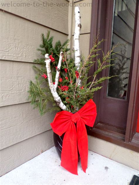 using a birch branch tree for a christmas tree birch tree diy decor welcome to the woods