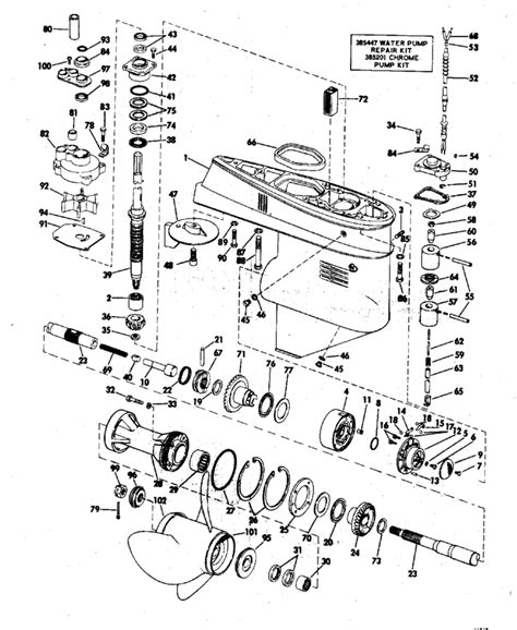65 hp mercury outboard wiring harness 37 wiring diagram