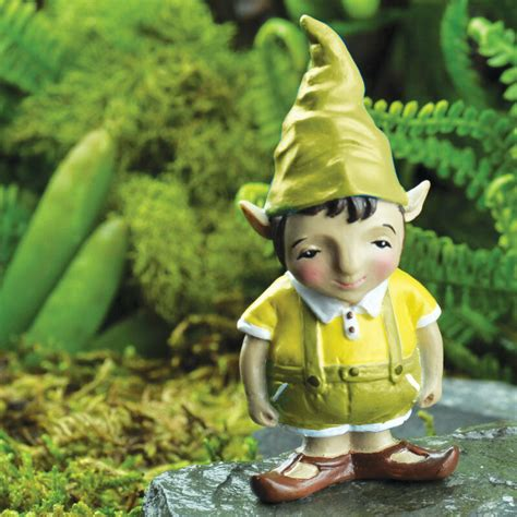 outdoor pixie elves miniature dollhouse garden elmer new ebay