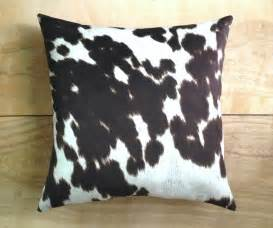 Fake Cowhide Rugs Cowhide Pillow Faux Cowhide Western Cowboy By Robincottage