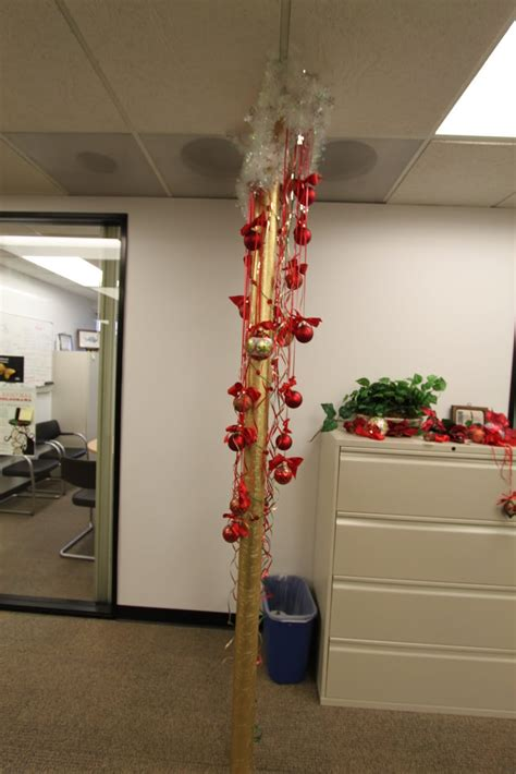 decorating office for christmas contest the office pole decorating contest mid century modern remodel