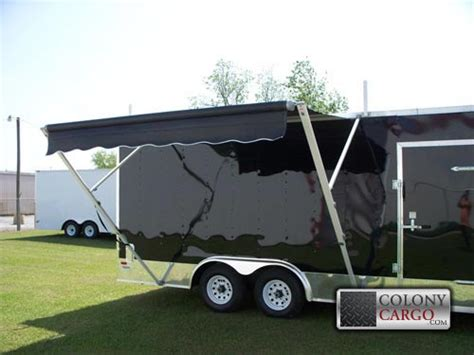 Cargo Trailer Awning by Concession Options Archives American Trailer Pros