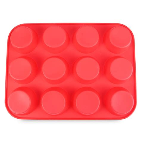 Divider Cup Silicone Cup 1 dropship silicone cake mold muffin cup silicone bakeware 12 cup baking pan cupcake moulds food