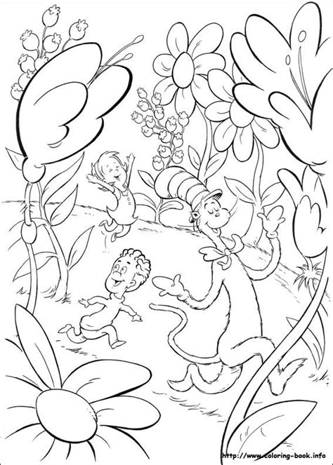 the cat in the hat coloring pages pinterest