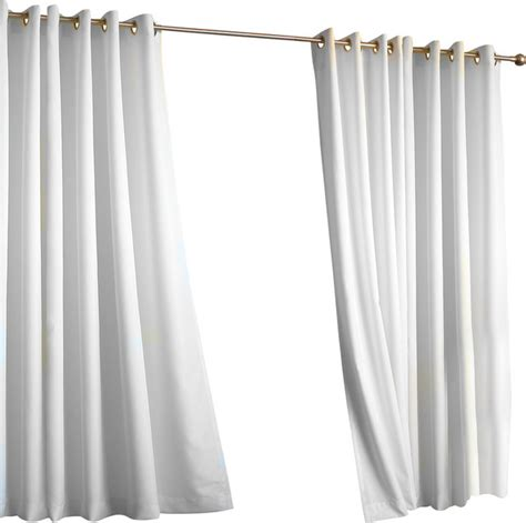 Houzz Kitchen Curtains Outdoor Grommet Top Curtain Panel Transitional Curtains By Commonwealth Home Fashions