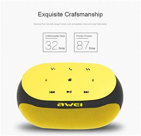 Awei Portable Bluetooth Speaker Y200 awei y200 portable wireless bluetooth speaker gearvita