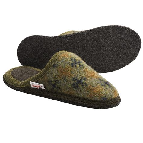 boiled wool slippers wesenjak slipper slides boiled wool for and
