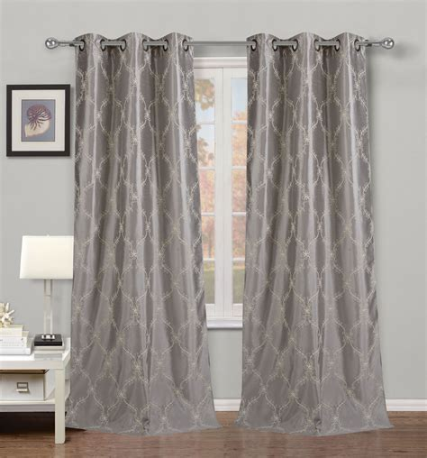 Silver Window Curtains Silver Shower Curtains