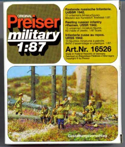 Preiser 16353 Bavarian Band december 2004 product news