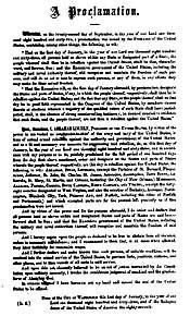 Emancipation Proclamation Emancipation Proclamation Actual Document