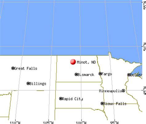 minot dakota map minot dakota nd profile population maps real
