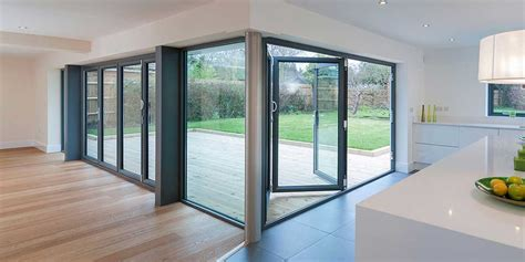 Bi Folding Glass Doors Bi Folding Doors Bi Fold Sliding Doors From Clearview Home Improvements