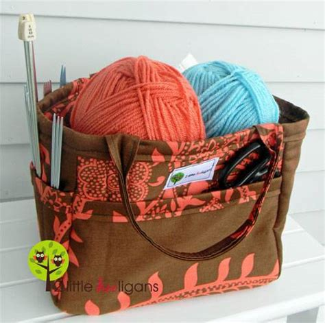 sewing pattern for knitting project bag 10 free tote bag patterns