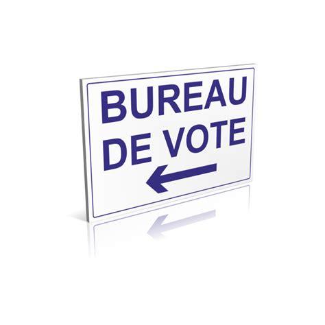 panneau bureau de vote fl 232 che 224 gauche signal 233 tique pour